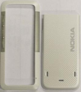 Carcasa Nokia 5310 alb+argintiu