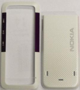 Carcasa Nokia 5310 alb+mov