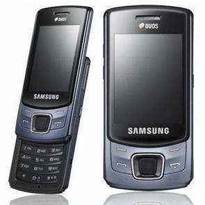 Samsung c6112 dualsim black