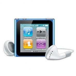 Ipod nano 8gb blue