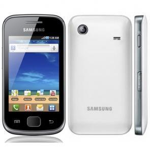 Samsung galaxy gio white
