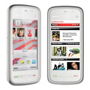 Nokia 5230 silver