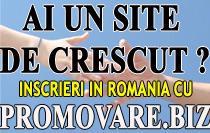 Inscriere in directoare web Romanesti cu promovare.biz