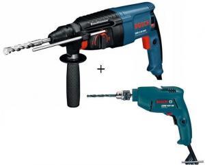 Ciocan rotopercutor Bosch GBH 2-26 DRE Professional+Cadou GBM 450 RE