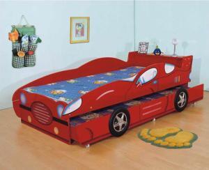 Mobila pat masina copii
