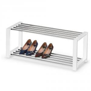 Suport pantofi cromat HM ST2 alb