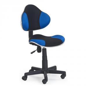 Scaun birou copii HM Flash albastru - negru