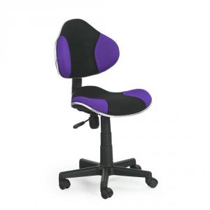 Scaun birou copii HM Flash violet - negru