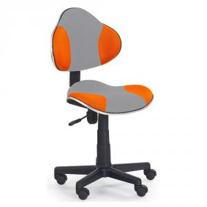 Scaun birou copii HM Flash 2 gri portocaliu - gri