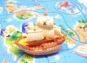 Puzzle corabie de pirati