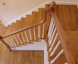 Trepte scari lemn masiv