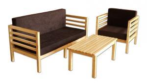Mobilier din lemn pentru terase