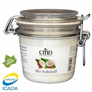 Ulei de nuca de cocos presat la rece, grad alimentar, 200 ml, CMD Naturkosmetik