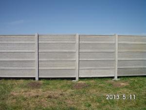Garduri din placi beton