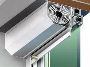 Rulouri exterioare suprapuse  aluminiu