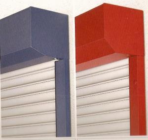 Rulouri exterioare aplicate din PVC