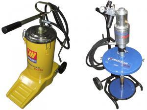Pompe gresare manuale si pneumatice