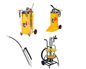 Echipamente pentru gresare, lubrifiere, aspiratoare ulei si nebulizatoare