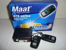 Alarma auto cu telecomanda