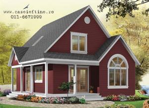 Constructii case,vile lemn