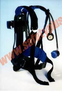 Aparat de protectie respiratorie PA94, cu aer comprimat (butelie otel inox 6,0l/300atm) Presiune Normala in masca X-plore 6300