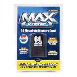Max memory card 64 mb
