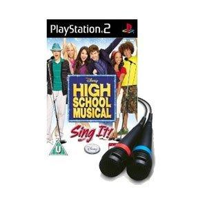 Disney High School Musical Sing It! cu 2 microfoane PS2