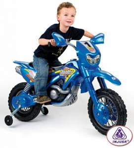 Motocicleta Moto Cross Thunder 6V - Injusa