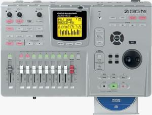Zoom MRS-802CD with CD-Burner