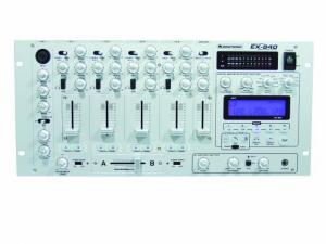OMNITRONIC EX-840 Digital effects mixer