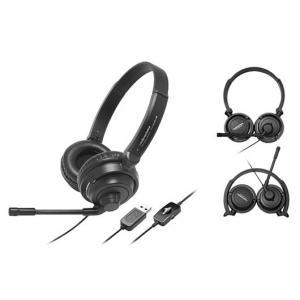 Audio-Technica ATH-750COM USB - Casti multimedia computer