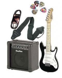 Thomann junior guitar set bk