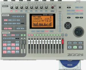 Zoom MRS-1608CD with CD-Burner