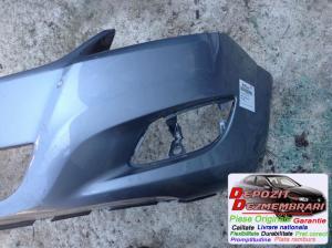 Bara protectie fata Facelift Argintie Fisura 4 Cm opel zafira (a05)