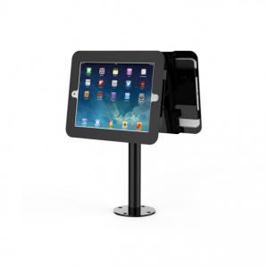 Stand dublu Maken pentru tableta IPAD rotativ, negru