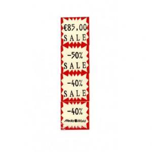Rola etichete pret 29 x 28 mm albe