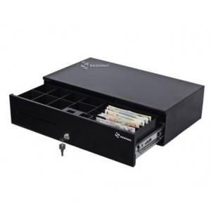 Sertar de bani Lat SK500 Superior (Tip deschidere - Cu cheie si electrica (din casa de marcat))