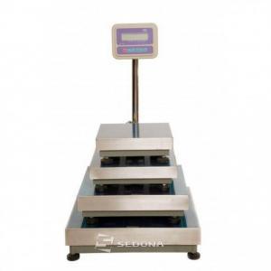Cantar platforma SWS FLUX 1,  80x80cm, 150/300/600 kg (Capacitate cantarire - 600 Kg)