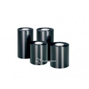Ribon wax negru 110mm Latime x 450m Lungime
