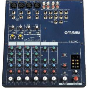 Mixer audio mg102c