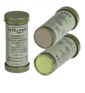 Crema de Camuflaj in 2 Culori Oliv-Ocru