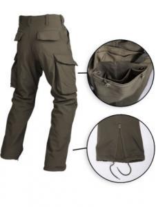 Pantaloni Trilaminati Explorer Oliv