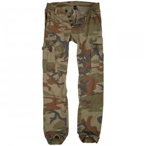 Pantaloni Bad Boys Camuflaj Woodland Raw Vintage