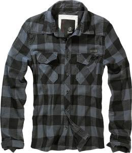 Camasa Check Shirt Grey-Black
