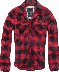 Camasa Check Shirt Red-Black