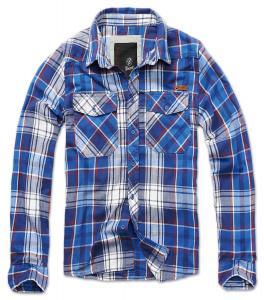 Camasa Check Shirt Blue