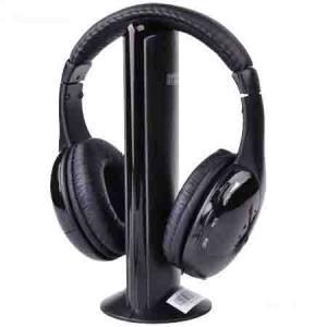 Casti Stereo Hi Fi X Bass Wireless Radio Fm