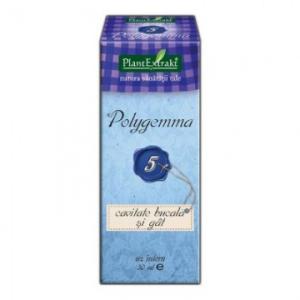 Polygemma 5 - Cavitate Bucala si Gat, de la Plant Extract
