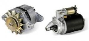 Alternator, electromotor motor Perkins