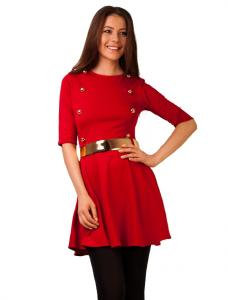 """Rochie """"Military Dress"""" Red"""